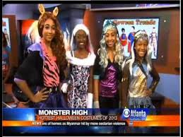 Party Monster Halloween Costumes Party Costume Fashion Show Cbs Mornings Atlanta