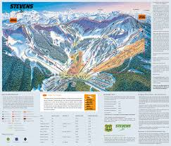 Big Sky Montana Map by Stevens Pass Washington Ski Resort Trail U0026 Ski Map
