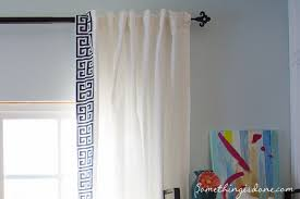White Curtains With Blue Trim Decorating White Curtains With Gray Trim 100 Images White Curtains With