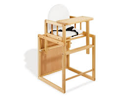 chaise haute bebe bois pinolino chaise haute transformable nele