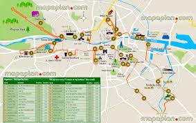 Dublin Ireland Map Dublin Maps Top Tourist Attractions Free Printable City