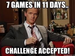 Challenge Accepted Meme Generator - barney stinson challenge accepted meme generator mne vse pohuj