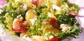 cuisine paysanne salade paysanne facile et pas cher recette sur cuisine actuelle
