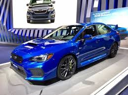 2018 Subaru Wrx Sti Redline First Look 2017 Naias Youtube