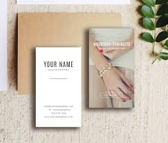 wedding photography business card template venice