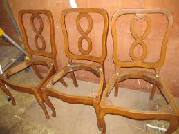french provincial chairs before reuse repurpose upcycle