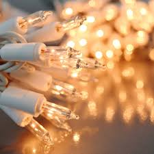 white christmas lights clear white party string lights white wire