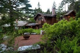 Big Backyard Design Ideas Le Petit Chalet Matthew Cunningham Landscape Design Llc Patios