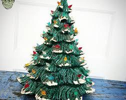 ceramic christmas tree with lights vintage ceramic christmas tree lights finest vintage ceramic