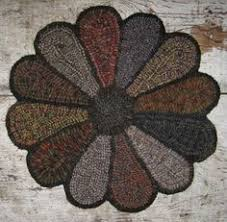 Primitive Hooked Rugs Ali Strebel Rug Guild Meeting Things I Have Actually Made