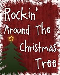 rockin u0027 around the christmas tree printable over the big moon