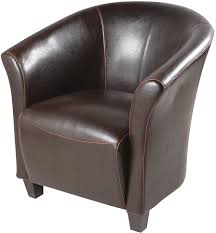 stunning brown leather accent chair on small home decoration ideas