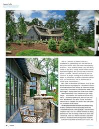 at home covers our design for a modern mountain lodge johnston