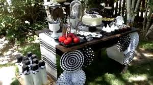 halloween party table ideas halloween party decoration ideas for your buffet table youtube