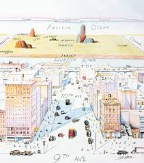 New York Gang Map by The 35 Best Magazine Covers Without Celebrities Saul Steinberg