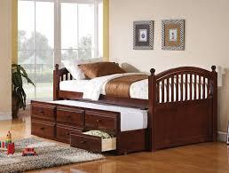 beige upholstered daybed w trundle caravana furniture