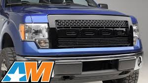 2012 Black Supercrew Ford Raptor - 2009 2014 f 150 barricade raptor style grille gloss black review