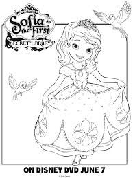 sofia coloring printable coloring pages crafts