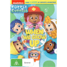 bubble guppies when we grow up dvd big w