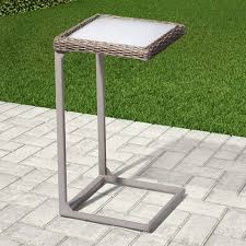 stone patio side table patio side tables mike ferner