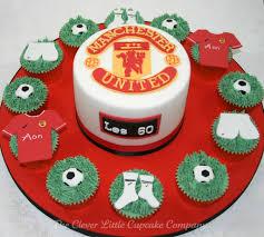 manchester united football team logo cakes cupcakes mumbai 26