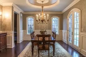 Wainscoting Dining Room Traditional Dining Room With Chair Rail By Christopher Derrick