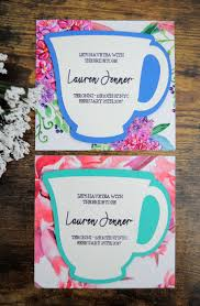 diy invitations bridal shower tea party invitations