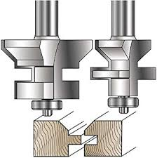 yonico 15229 flooring 2 bit tongue and groove router bit set with