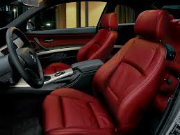 bmw red interior e92 coral red