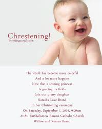 invitation greetings christening invitation wording mes specialist
