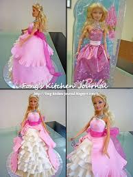 fong u0027s kitchen journal princess barbie doll cake