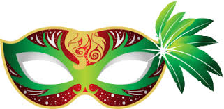 green mardi gras green mardi gras mask clip library
