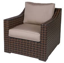 designer wicker u0026 rattan by tribor coral gables arm chair u2013 pool