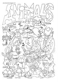 zoo animal coloring pages 2 animal pictures to color gianfreda net