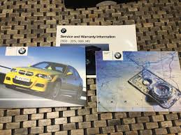 2003 2004 2002 bmw m3 owners manual navigation book e46 smg