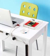 organize cords on desk tech storage solutions