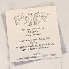 baby shower invitations personalised baby shower invitation pack by eggbert