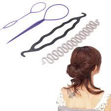 bun pins hot sale 3 kinds magic hair styling accessories set hair pin hair