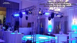 dj lighting truss package dance floor boxed lighting truss