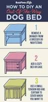 Upcycled Drawer Pet Bed Diy by 83 Best Diy Dog Houses And Diy Dog Beds Images On Pinterest Diy