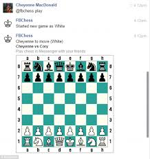messenger code users play chess