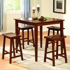 rustic pub table and chairs rustic pub table set brown leather upholstered chairs black and