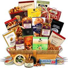 snack gift basket deluxe snack gift basket c w directc w direct