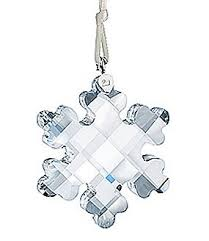 ornament samanta snowflake swarovski retired swarovski