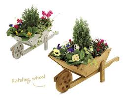 Wooden Wheelbarrow Planter by Wooden Wheelbarrow Planters U2020 Aldi U2014 Great Britain Specials Archive