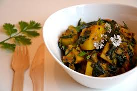 cuisine hindou aloo palak pommes de terre et épinards à l indienne les recettes
