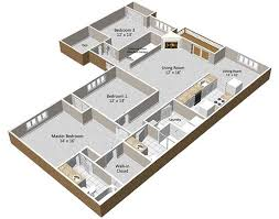 three bedroom apartments floor plans 1 2 3 bedroom apartment homes for rent dockside village