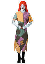 nightmare before christmas costumes disguise inc 10873 the nightmare before christmas sally