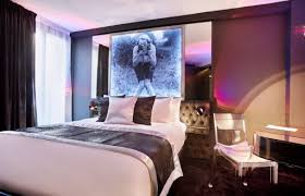 hotel chambre a theme declic hotel for parisian chic accommodation in montmartre 18th