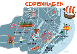 Copenhagen Map Copenhagen Public Transport Map Copenhagen For Business Travel